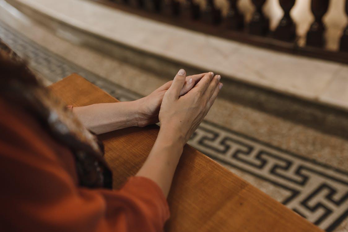Be och meditera för själen